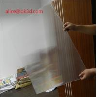 Buy cheap 120x240cm 20 LPI 3 mm lenticular board for FLIP lenticular effect on digital from wholesalers
