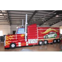 Buy cheap Transformers Truck Inflatable Obstacle Course from wholesalers