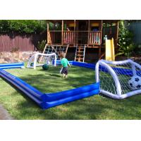 Buy cheap Kids Inflatable Sports Games Inflatable Football Field For House Backyard from wholesalers