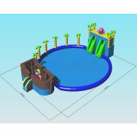 Buy cheap Octopus Ocean Water Park Inflatable Pool Slide Commercial Grade Combo Games from wholesalers