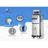Buy cheap 808nm Permanent Laser Hair Removal Machines / Hair Removal Equipment For All Types Skin from wholesalers