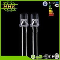Wholesale 3.0 Volt - 3.6v 20mA 6500k 5mm LED Diode , Round Shape 5mm white LED for LED Display from china suppliers
