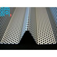 Buy cheap Perforated corrugated aluminum sheet from wholesalers