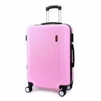 Wholesale Iron Trolley 210D ABS Polycarbonate Suitcase from china suppliers