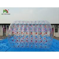 Buy cheap Colorful PVC Inflatable Water Toy / Walking On Water Roller With CE Approved Air Pump from wholesalers