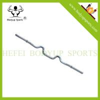 Buy cheap wholesales 50 Regular Solid Super Curl chromed Barbell Bar from wholesalers