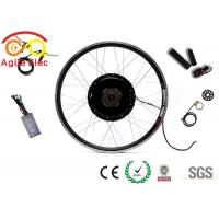 Buy cheap Adult Electric Bike Hub Motor Kit Disc Brake Available Space Saving Feature from wholesalers