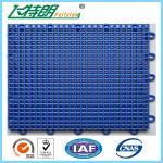 Wholesale Outdoor Interlocking Polyurethane Sports Flooring 350g / pc PU Hard Flat Surface from china suppliers