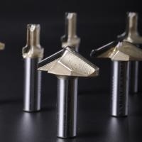 Buy cheap Ultra High Hardness PCD Router Bits , Customized Size Diamond Tip Bit from wholesalers