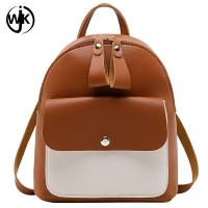 Wholesale Designer Wholesale Small Backpacks Women  Pu Leather Backpack women