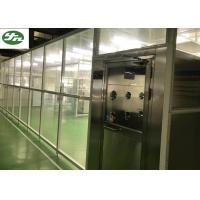 Buy cheap 110V / 220V Clean Room Booth , Laminar Flow Booth With H14 Filter Grade from wholesalers
