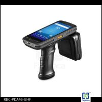 Buy cheap RBC-PDA-46UHF  960MHz Android Mobile UHF RFID Tag Reader With Scanner from wholesalers