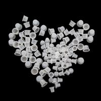 Buy cheap Microblading Ink Caps For Tattooing 100 Pcs Disposable 11mm Height from wholesalers