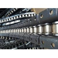 Stainless Steel Double Pitch Roller Chain Machined With Custom Attachments Manufactures