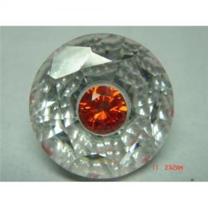 cubic zirconia white stone in stone (ella@sme-gems.com) Manufactures