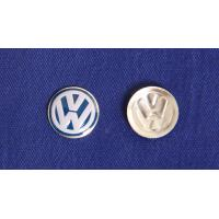 Buy cheap high quality VW car emblem in printing color with concaved mould from wholesalers