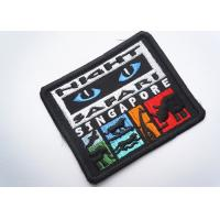Buy cheap Rubber  Embroidered Clothing Patch Uniform Sew On For Badges from wholesalers
