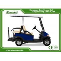 Buy cheap EXCAR Dark Blue 48V Battery Powered Golf Cart AU CHAFTA Approved 2+2 Seats from wholesalers