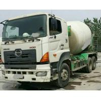 China HOWO Concrete mixer truck and ZOOMLION HINO Used Concrete Mixer Truck 10 CBM on sale
