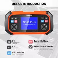 Buy cheap OBDSTAR X300 PRO3 Key Master Standard Configuration Immobiliser Odometer Adjustment EEPROM for Toyota G & H Chip All Key from wholesalers