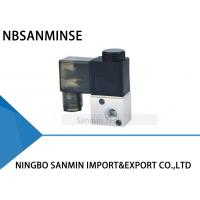 China 3 Way Pneumatic Solenoid Valve 2 Position M5 , G 1/8 Airtac Type 3V1 Normally Closed on sale