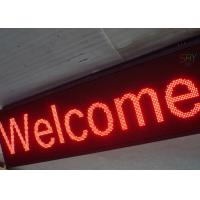 Buy cheap Aluminum Frame Programmable LED Scrolling Message Board For Shop Advertising from wholesalers