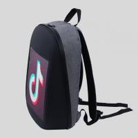 Buy cheap IP65 Waterproof Fashion Backpack With Led Lights P3.75 Smart New Media from wholesalers