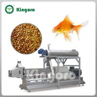 Buy cheap Stainless steel floating fish feed extrusion machine from wholesalers