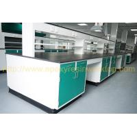 Buy cheap University anti aging science lab island bench epoxy resin chemical resistant countertops from wholesalers