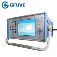 Buy cheap 90A 300V Portable 3 Phase Relay Protection Tester with Distance protection and Harmonic test from wholesalers