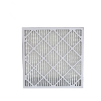 Buy cheap MERV 11 Pleated AC Furnace Paperboard Panel Air Filters Light weight from wholesalers