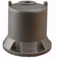 Buy cheap Stable Pump Parts Casting / Ductile Cast Iron Water Pump Engine Cover OEM from wholesalers