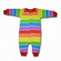 Buy cheap Baby Romper Suit, Made of 100% Cotton Interlock, Customized Colors are Accepted from wholesalers