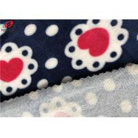 Buy cheap 95% Polyester 5% Spandex Velvet Brushed Printed Velour Fabric For Baby Blanket from wholesalers