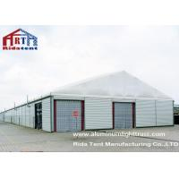Buy cheap Large 2000sqm Outdoor Car Storage Tents Sandwhich Panel Wall CE Certificated from wholesalers