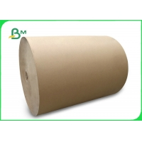 Buy cheap 160gsm Brown Kraft Testliner Paper For Gift Wrapping 135cm Recycled Pulp from wholesalers