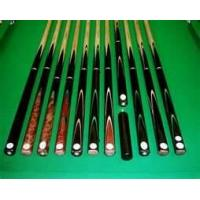 Buy cheap customized 145 cm / 57 inch  Handmade Ash & Ebony Snooker Cue 17.5-18 oz from wholesalers
