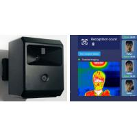 Buy cheap AI Fever Screening system 1920×1080 Infrared Thermal Scanner from wholesalers