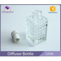 Cylinder Clear Empty Aroma Reed Diffuser Perfume With Cork Stopper Manufactures