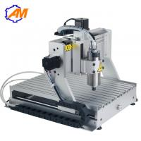 Buy cheap AMAN metal cnc engraving machine price mini portable 4axis cnc router price 3d cnc router machine price from wholesalers