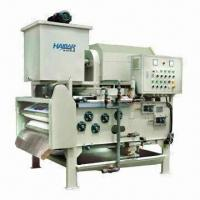 Buy cheap High Dewatering Efficiency Belt Filter Press, Applicable for Printing/Dyeing Sewage from wholesalers
