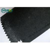 Wholesale 50gsm Embroidery Backing Fabric Non Woven 100% Recycle Cotton Black Color from china suppliers