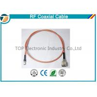 Buy cheap Brass Antenna Jump Pigtail RF Coaxial Cable with TNC Connector from wholesalers