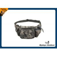 China Child Polyester Camo Fanny Pack Waterproof 5 Pocket Hip Waist Pack Bag on sale