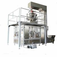 Buy cheap Date palm Packing machine stand up pouch filling machine,cheap film forming bag pouch packaging machine for granule from wholesalers