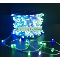 China Outdoor Icicle Lights RGB Twinkle Wedding 666 led 100m Xmas Fairy String in holiday lighting on sale