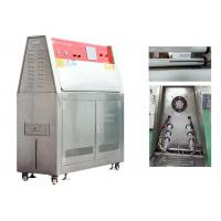 Buy cheap ISO 4892-3 UV Weathering Test Chamber Automatic Temperature Calibration from wholesalers