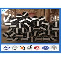 Buy cheap Q345 Steel Material 40FT Hot Dip Galvanized Electric Steel Pole product