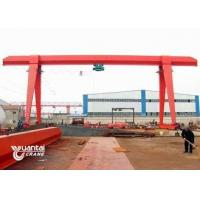 Buy cheap 20 Ton Box Single Girder Gantry Crane 7.5 - 32 M Span With Cantilever from wholesalers