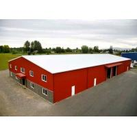Buy cheap Multi Purpose Prefabricated Warehouse Buildings In Steel High Seismic Resistant from wholesalers